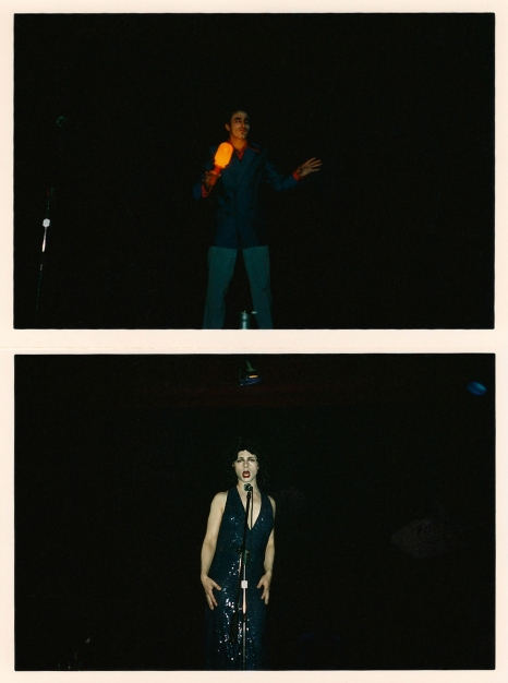 Performance en Bar Tuñón, 2004.