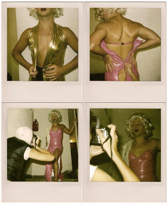 Polaroids de Tatiana Paul, 2008.
