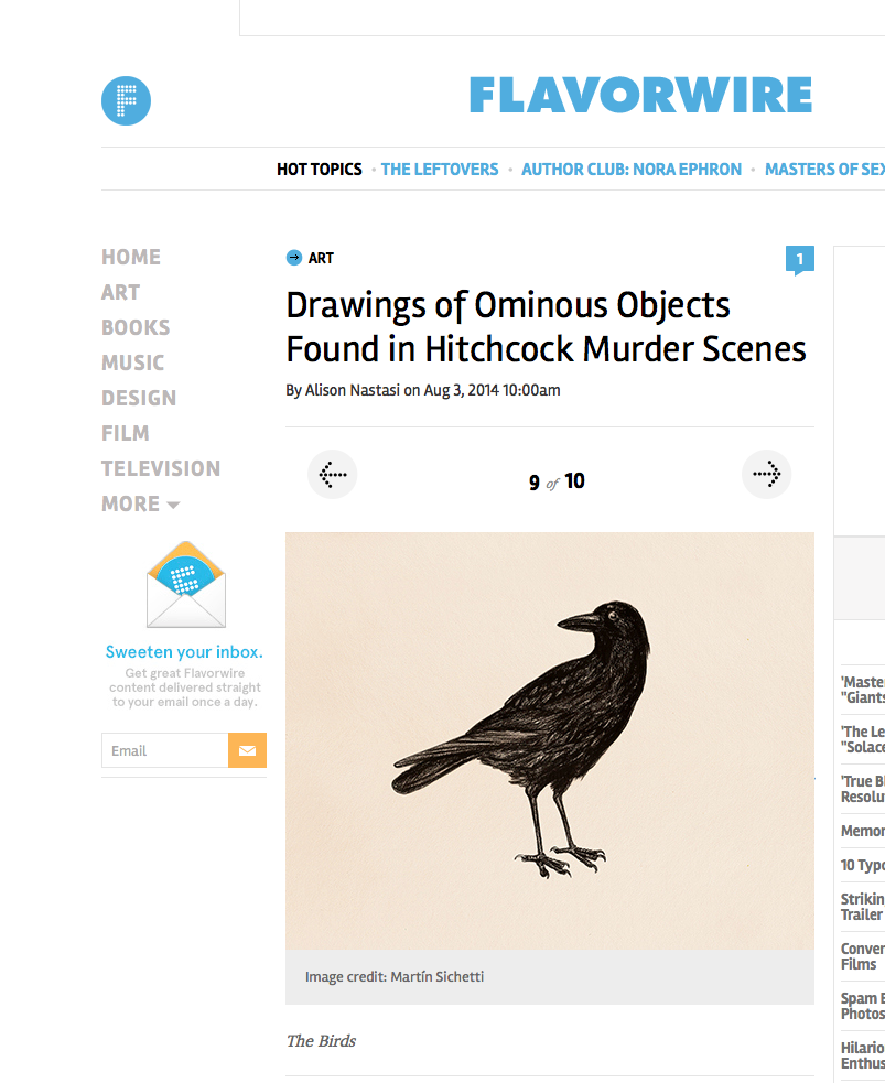 http://flavorwire.com/470415/drawings-of-ominous-objects-found-in-hitchcock-murder-scenes/9