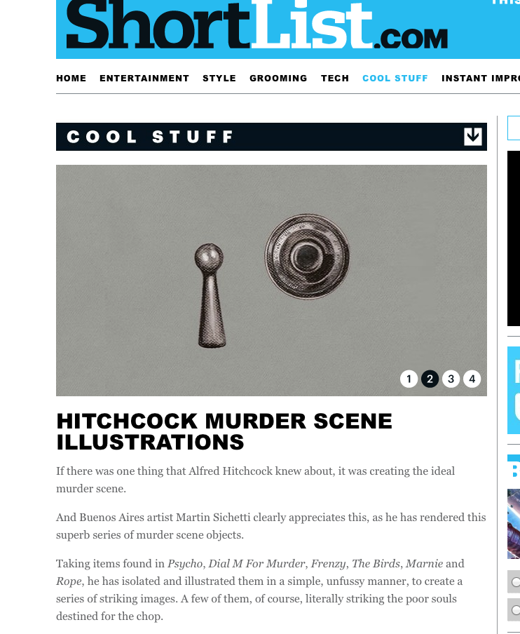 http://www.shortlist.com/cool-stuff/design/hitchcock-murder-scene-illustrations