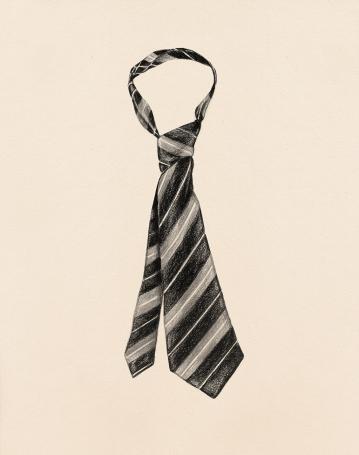 """""""#52 Frenzy""""(2013) Dibujo, lápiz sobre papel. Medidas 35,5 x 28 cm. Film: Frenzy (1972) Dir. Alfred Hitchcock."""