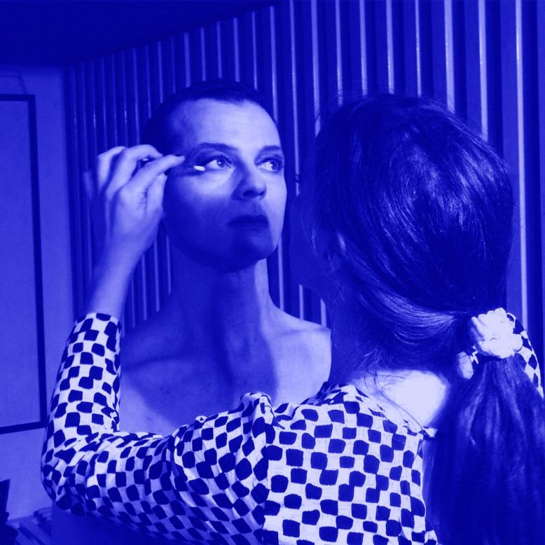 Blue Velvet. Performance junto a Nacho Iasparra en Praxis, julio 2015