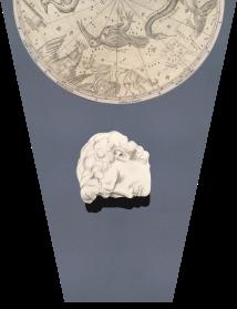 Él Mismo. (2016) Dibujo-Collage. Lápiz y pastel sobre papel.Medidas: 65 x 50 cm.