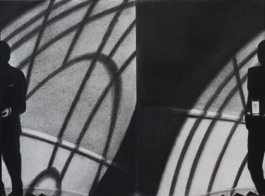 Paranoia. Serie Fatale, 2018   Paranoia. Series Fatale, 2018 Lápiz y pastel sobre papel   Pencil and pastel on paper 29.5 x 40.5 cm   11.6 x 15.9 in