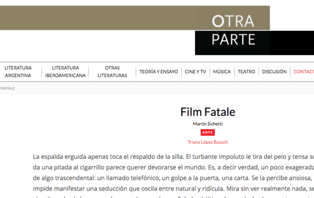 https://www.revistaotraparte.com/arte/film-fatale/