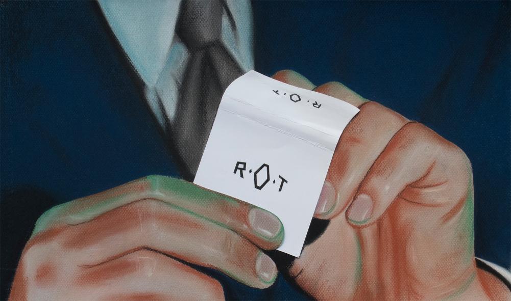 ROT (2018) Serie Stills / 29 x 50 cm